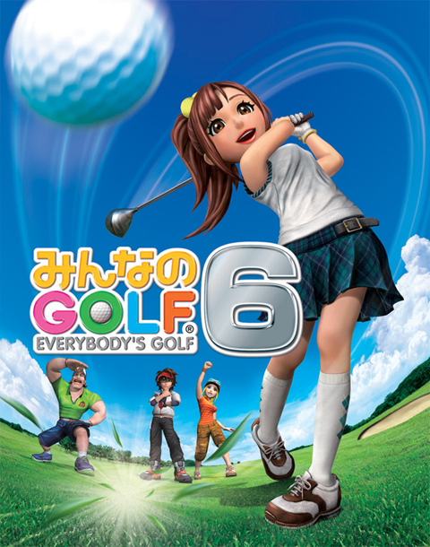Minna no Tennis Golf 6 Introduction.